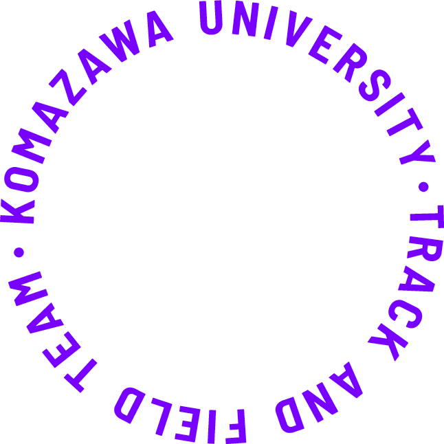 KOMAZAWA UNIVERSITY・TRACK AND FIELD TEAM・